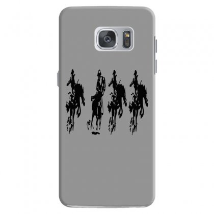 Horse Race Samsung Galaxy S7 Case Designed By Acoy
