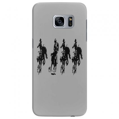 Horse Race Samsung Galaxy S7 Edge Case Designed By Acoy