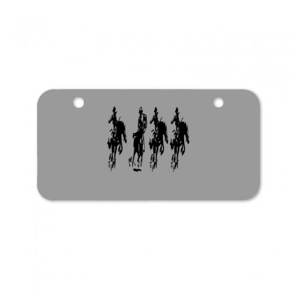 Horse Race Bicycle License Plate Designed By Acoy