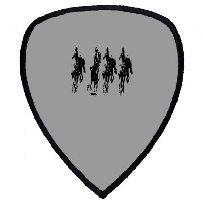 Horse Race Shield S Patch Designed By Acoy