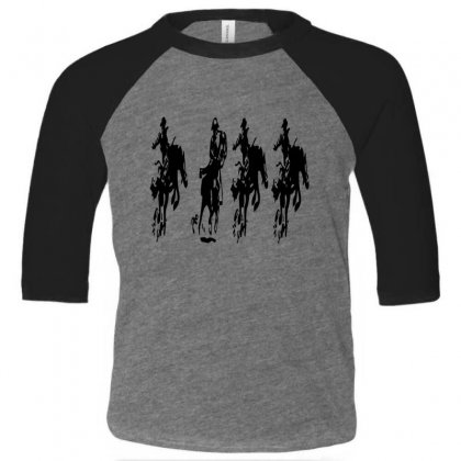 Horse Race Toddler 3/4 Sleeve Tee Designed By Acoy