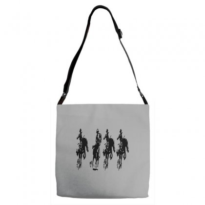 Horse Race Adjustable Strap Totes Designed By Acoy