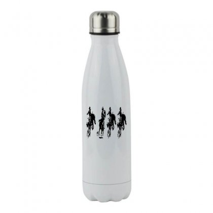 Horse Race Stainless Steel Water Bottle Designed By Acoy
