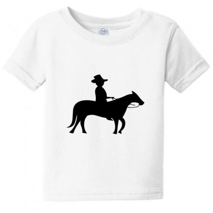Little Cowboy Baby Tee Designed By Acoy
