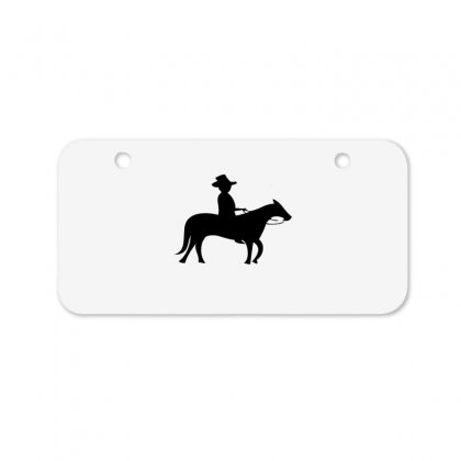 Little Cowboy Bicycle License Plate Designed By Acoy