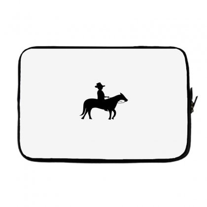 Little Cowboy Laptop Sleeve Designed By Acoy
