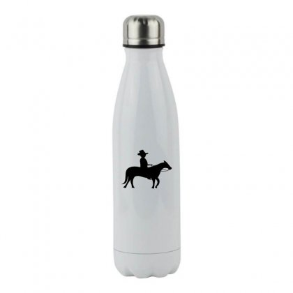 Little Cowboy Stainless Steel Water Bottle Designed By Acoy