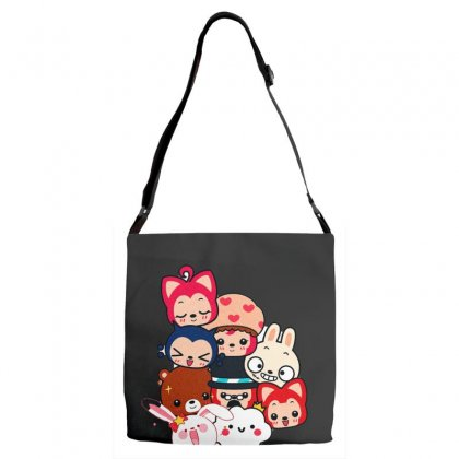 Picture Cartoon Adjustable Strap Totes Designed By Nouran