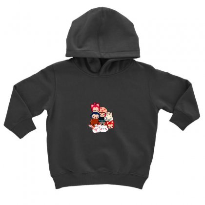 Picture Cartoon Toddler Hoodie Designed By Nouran