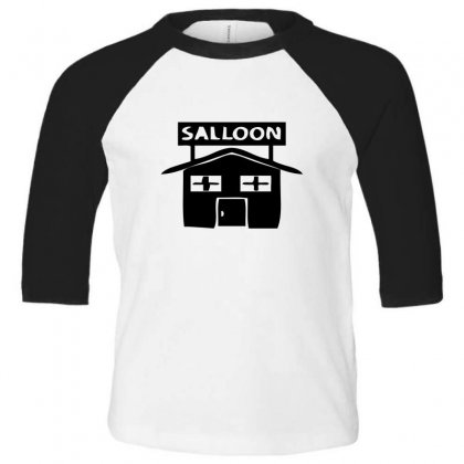 Salloon Toddler 3/4 Sleeve Tee Designed By Acoy
