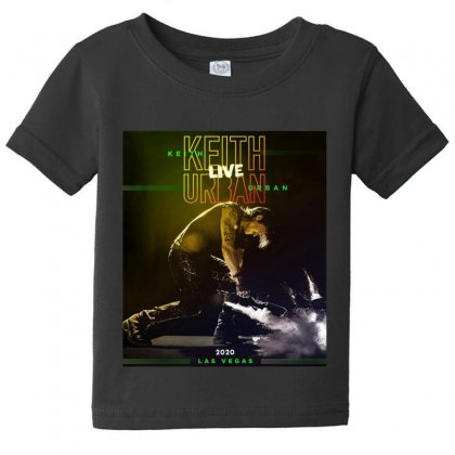 Live Keith Urban Concert At Las Vegas Baby Tee Designed By Cahayadianirawan