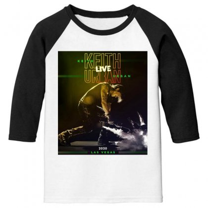Live Keith Urban Concert At Las Vegas Youth 3/4 Sleeve Designed By Cahayadianirawan