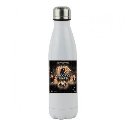 Dancing With The Stars Stainless Steel Water Bottle Designed By Cahayadianirawan