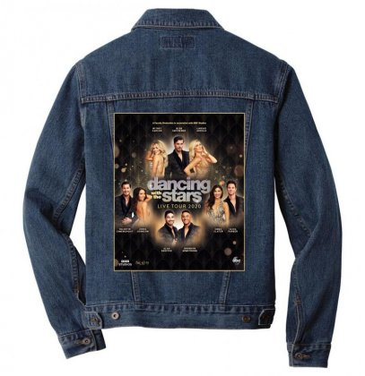 Dancing With The Stars Men Denim Jacket Designed By Cahayadianirawan