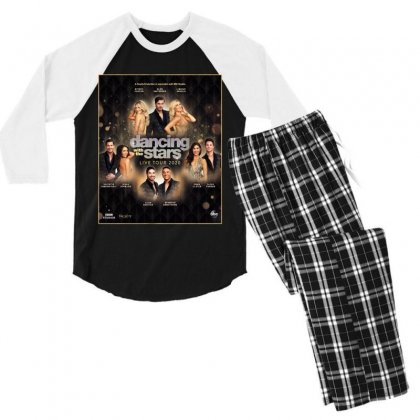 Dancing With The Stars Men's 3/4 Sleeve Pajama Set Designed By Cahayadianirawan