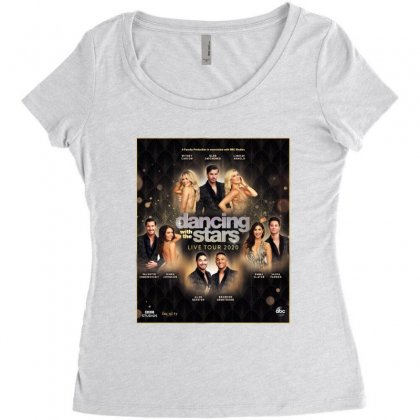 Dancing With The Stars Women's Triblend Scoop T-shirt Designed By Cahayadianirawan