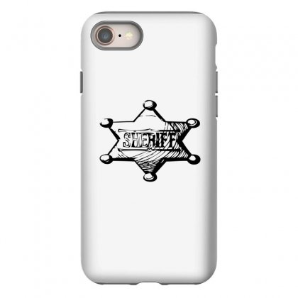 Sheriff Iphone 8 Case Designed By Acoy
