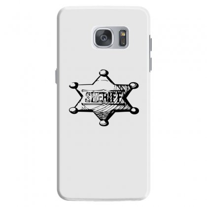 Sheriff Samsung Galaxy S7 Case Designed By Acoy