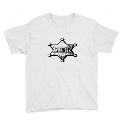 Sheriff Youth Tee Designed By Acoy