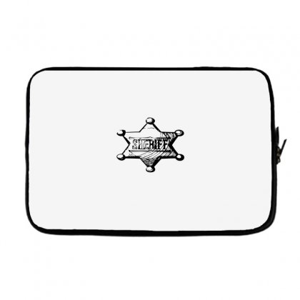 Sheriff Laptop Sleeve Designed By Acoy