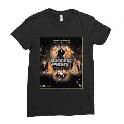 Dancing With The Stars Ladies Fitted T-shirt Designed By Cahayadianirawan