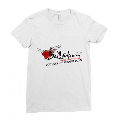 Belladrum Tartan Heart Festival Ladies Fitted T-shirt Designed By Cahayadianirawan