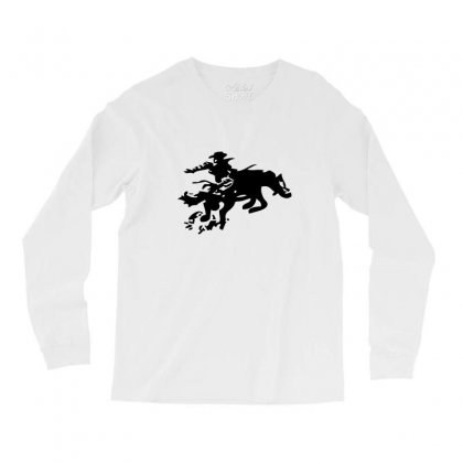 Stabbed Cowboy Long Sleeve Shirts Designed By Acoy