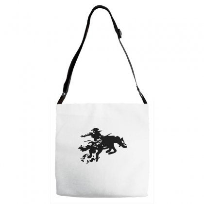 Stabbed Cowboy Adjustable Strap Totes Designed By Acoy
