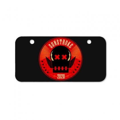 Sunstroke Bicycle License Plate Designed By Cahayadianirawan