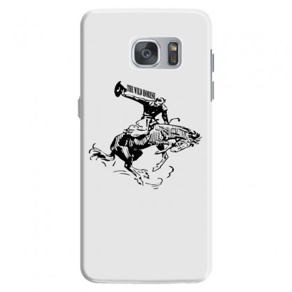 The Wild Horse Samsung Galaxy S7 Case Designed By Acoy