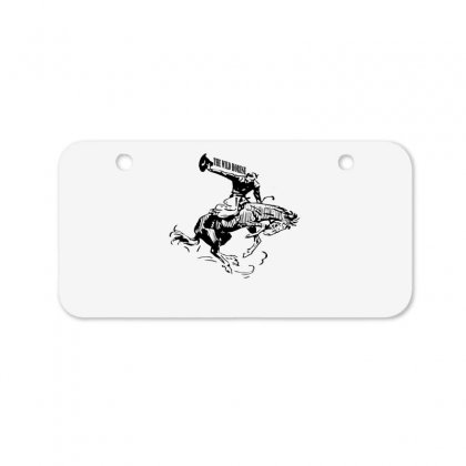 The Wild Horse Bicycle License Plate Designed By Acoy