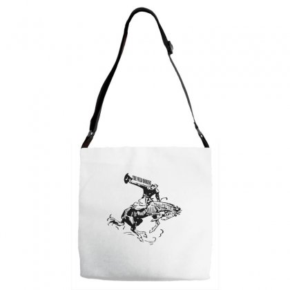 The Wild Horse Adjustable Strap Totes Designed By Acoy