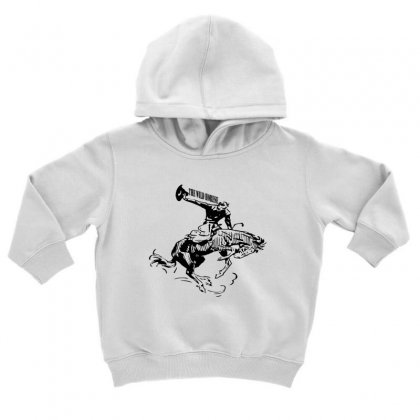 The Wild Horse Toddler Hoodie Designed By Acoy