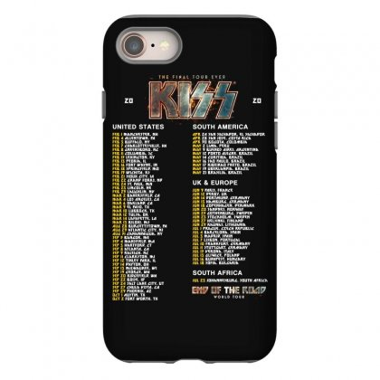 World Tour Dates 2020 Kiss Iphone 8 Case Designed By Cahayadianirawan