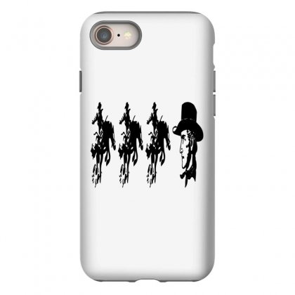 Three Cowboys  And Cowboys Faces Iphone 8 Case Designed By Acoy