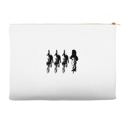 Three Cowboys  And Cowboys Faces Accessory Pouches Designed By Acoy