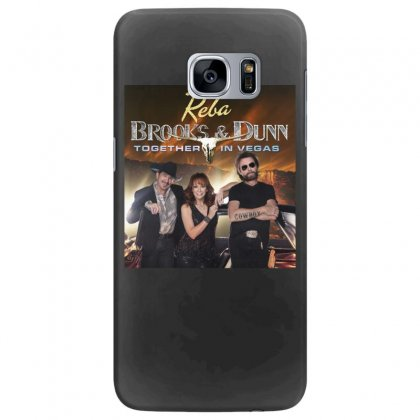 Reba Brooks & Dunn Together In Vegas Samsung Galaxy S7 Edge Case Designed By Cahayadianirawan