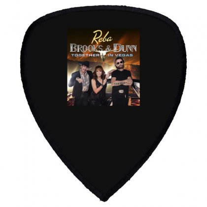 Reba Brooks & Dunn Together In Vegas Shield S Patch Designed By Cahayadianirawan