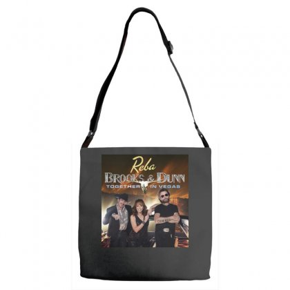 Reba Brooks & Dunn Together In Vegas Adjustable Strap Totes Designed By Cahayadianirawan