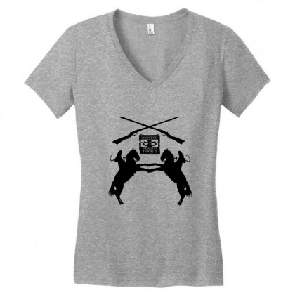 Wanted  Reward Women's V-neck T-shirt Designed By Acoy