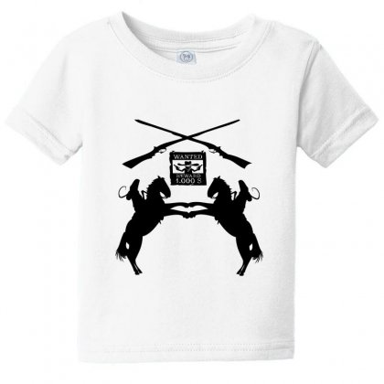 Wanted  Reward Baby Tee Designed By Acoy