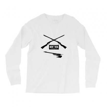 Wanted Cowboy Weapons Long Sleeve Shirts Designed By Acoy