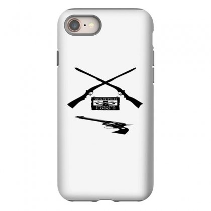 Wanted Cowboy Weapons Iphone 8 Case Designed By Acoy