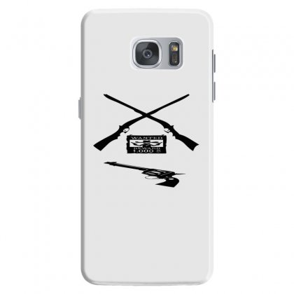 Wanted Cowboy Weapons Samsung Galaxy S7 Case Designed By Acoy