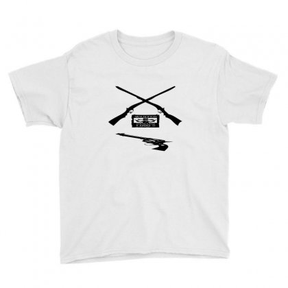Wanted Cowboy Weapons Youth Tee Designed By Acoy