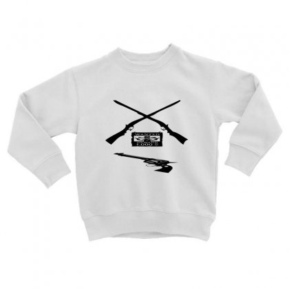 Wanted Cowboy Weapons Toddler Sweatshirt Designed By Acoy