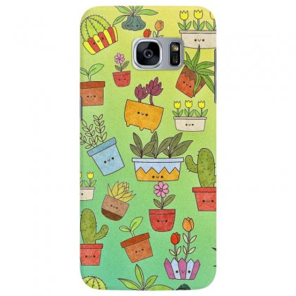 Plants Samsung Galaxy S7 Edge Case Designed By Nouran