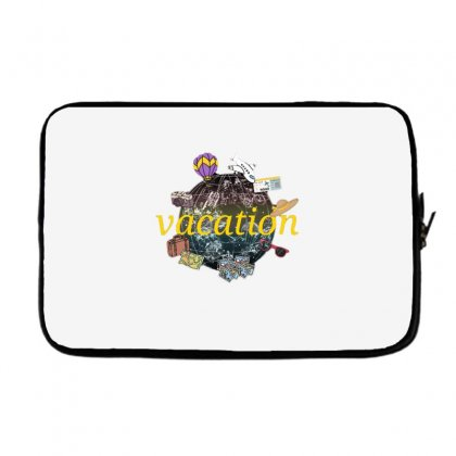 Vacation Laptop Sleeve Designed By Nouran