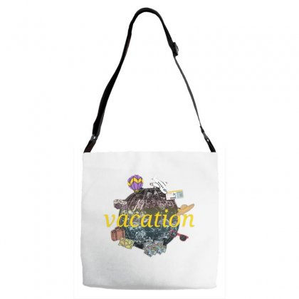 Vacation Adjustable Strap Totes Designed By Nouran