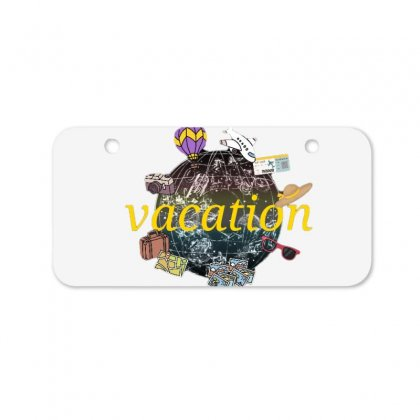 Vacation Bicycle License Plate Designed By Nouran